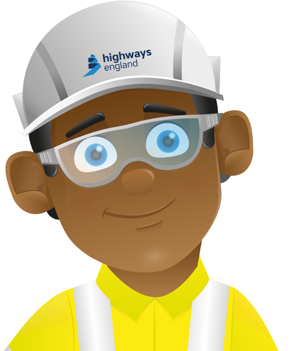 Employee using safety training portal
