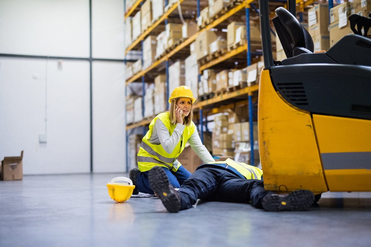 Safety training courses to prevent accidents at work